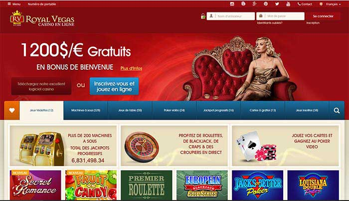 casinoen ligne royal vegas revue