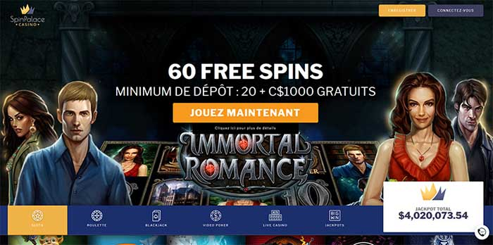 casino en ligne spin palace