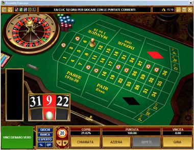 Reglement de la roulette au casino